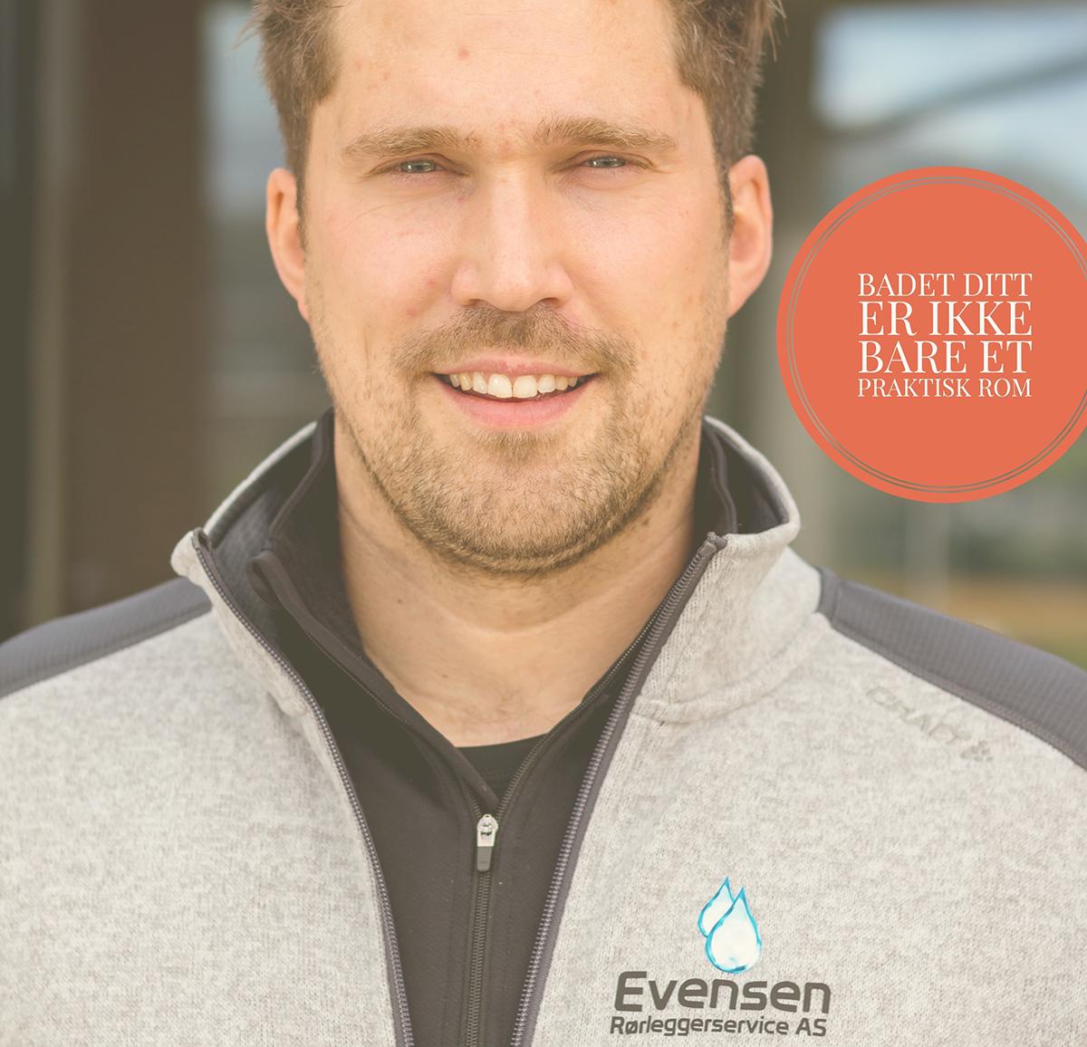 Jonas Evensen, Evensen Rørleggerservice om Instagram