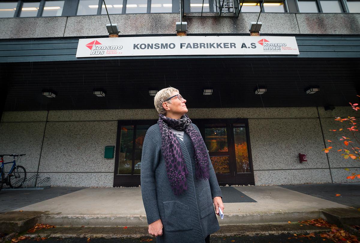 Reidun Bakken, ordfører i Audnedal kommune